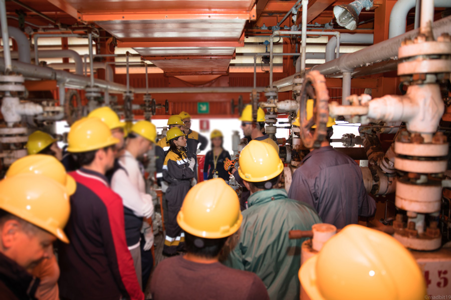 QOC Solutions in visita alla piattaforma Garibaldi C di ENI